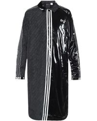 Alexander Wang - Logo-patched Coat - Lyst