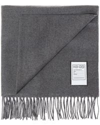 KENZO - Scarf With Id Slot - Lyst