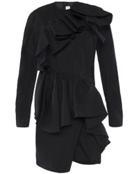 Marni - Short Ruffle Dress - Lyst
