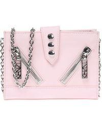 KENZO - Leather Shoulder Bag - Lyst