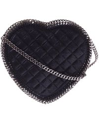 Stella McCartney - Heart Quilted Shoulder Bag - Lyst