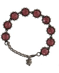 Gucci - Bracelet With Crystals - Lyst