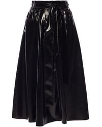 MSGM Tie-up Skirt - Black