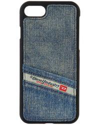 DIESEL - Denim Iphone 7 Case - Lyst