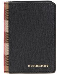 Burberry - Folding Card Case - Lyst