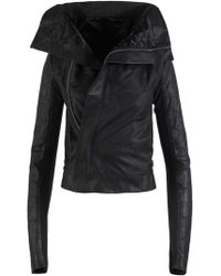 Rick Owens - Band Collar Jacket - Lyst