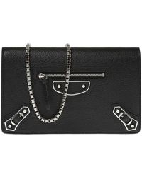 Balenciaga - 'met' Wallet On Chain - Lyst