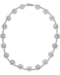 Bottega Veneta - Silver Necklace - Lyst