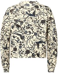 Étoile Isabel Marant - Patterned Turtleneck Sweatshirt - Lyst