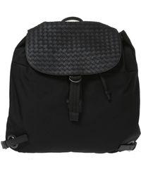 Bottega Veneta - 'intrecciato' Canvas Backpack - Lyst