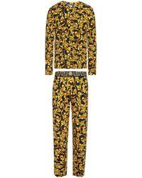 Versace - Patterned Pyjama - Lyst