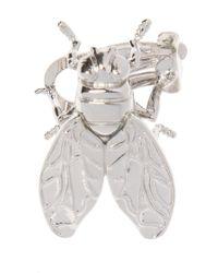Balenciaga - Fly-shaped Earring - Lyst