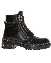 Balmain - Studded Boots - Lyst