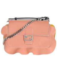 Fendi - 'double Baguette' Shoulder Bag - Lyst