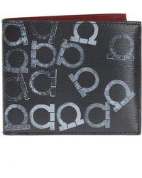 Ferragamo - Logo-printed Bi-fold Wallet - Lyst