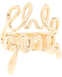 Chloé | Ring With Lettering | Lyst