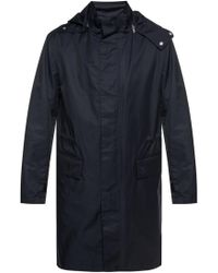 Theory - Jacket With Removable Hood - Lyst