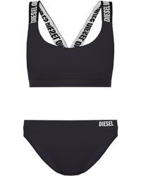 DIESEL Two-piece Swimsuit With Logo