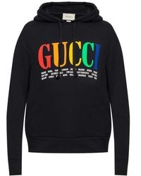 Gucci - Hooded Sweatshirt - Lyst