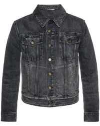 Saint Laurent - Denim Jacket - Lyst