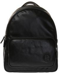 Giorgio Armani - Logo-embossed Backpack - Lyst