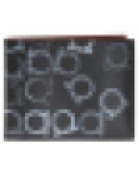 Ferragamo - Printed Bi-fold Wallet - Lyst