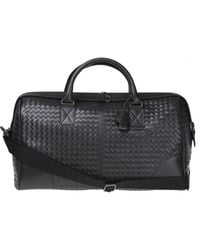Bottega Veneta - Leather Duffel Bag - Lyst