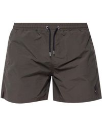 McQ - Patched Swimming Shorts - Lyst