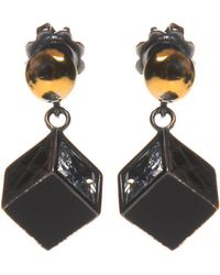 Bottega Veneta - Silver Earrings With Charms - Lyst