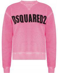 DSquared² - Logo-printed Sweatshirt - Lyst