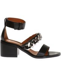 Givenchy - Block Heel Sandals - Lyst
