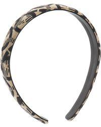 Ferragamo - Embroidered Headband - Lyst