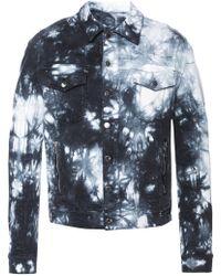 Balmain - Shaded Denim Jacket - Lyst