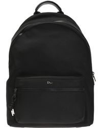 Dior - Backpack With Metal Logo - Lyst