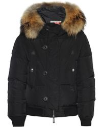 DSquared² - Jacket With Detachable Hood - Lyst