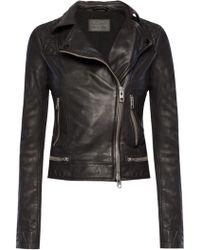 AllSaints - 'conroy' Biker Jacket - Lyst