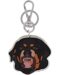 Givenchy - Rottweiler Head Key Ring - Lyst