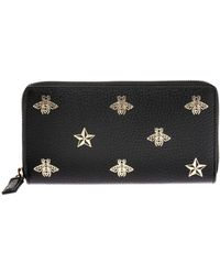 Gucci - Patterned Wallet - Lyst