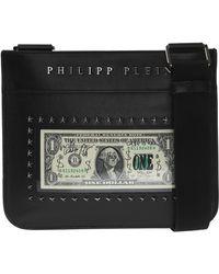 1bb14a4ba0 Philipp Plein 'fix You' Shoulder Bag in Black for Men - Lyst
