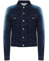 DIESEL - Shaded Denim Jacket - Lyst