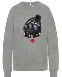 Moncler Grenoble - Sweatshirt With Application - Lyst