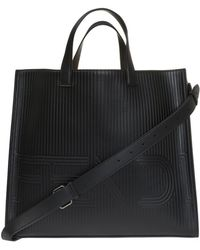 ebf1dc9dd766 Lyst - Fendi Bag Bugs Shopper in Black for Men