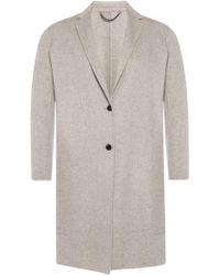 AllSaints - 'anya' Coat With Notch Lapels - Lyst