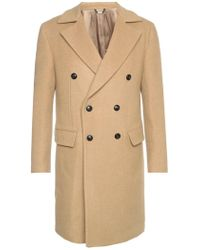 Versace - Single-vented Coat - Lyst