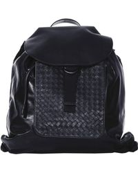 Bottega Veneta - Black Backpack - Lyst
