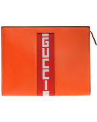 Gucci - Cosmetics Bag With A Logo - Lyst