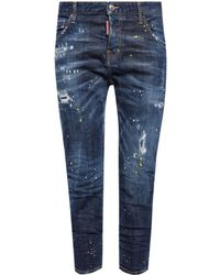 DSquared² - 'cool Girl' Distressed Jeans - Lyst