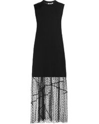 McQ - Lace-trimmed Dress - Lyst