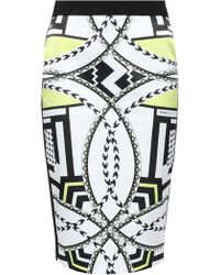 Versace Jeans - Pencil Skirt - Lyst