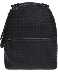 Bottega Veneta - 'intrecciato' Pattern Backpack - Lyst